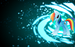 Rainbow Dash PNG 4K