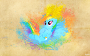 Rainbow Dash Wallapaper
