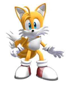 Miles Tails Prower PNG