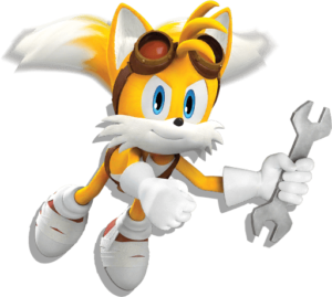 Miles Tails Prower PNG transparent
