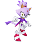 Blaze the Cat PNG