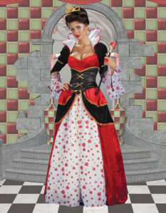 Queen of hearts images