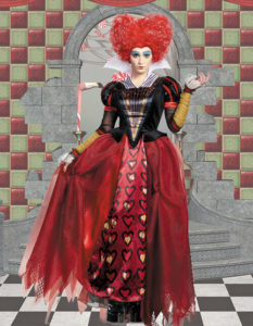 Queen of hearts png
