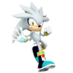 Silver the Hedgehog PNG
