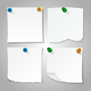 Sticky Notes PNG Vector