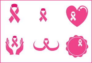breast cancer ribbon png vector free