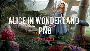 alice in wonderland png