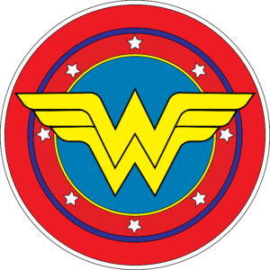 wonder woman vector logo eps